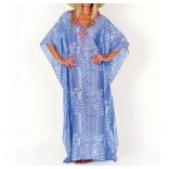 Long Printed Caftan