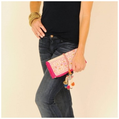 Cross-Stitch Clutch